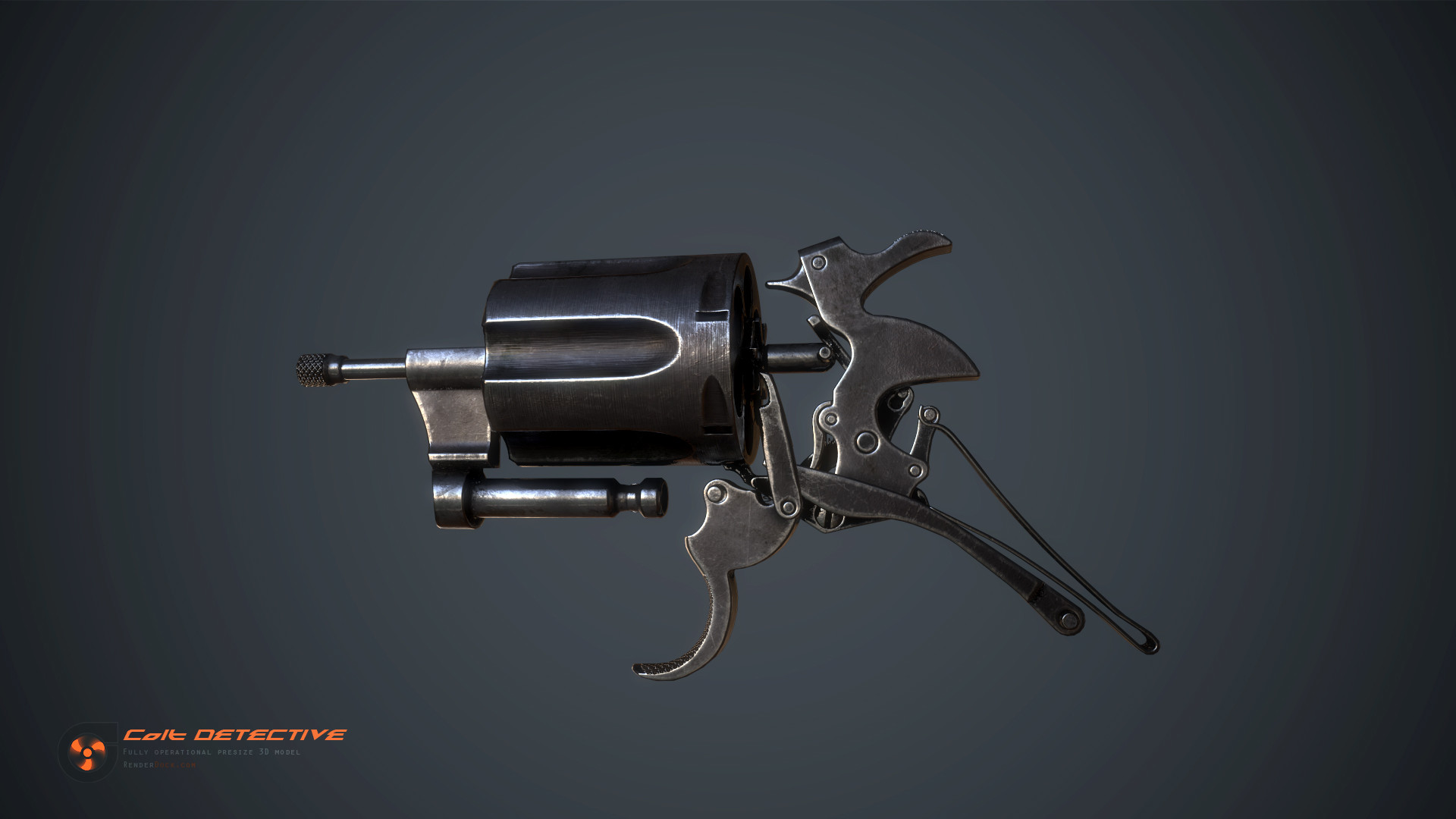 Renderdock studio colt detective detail04