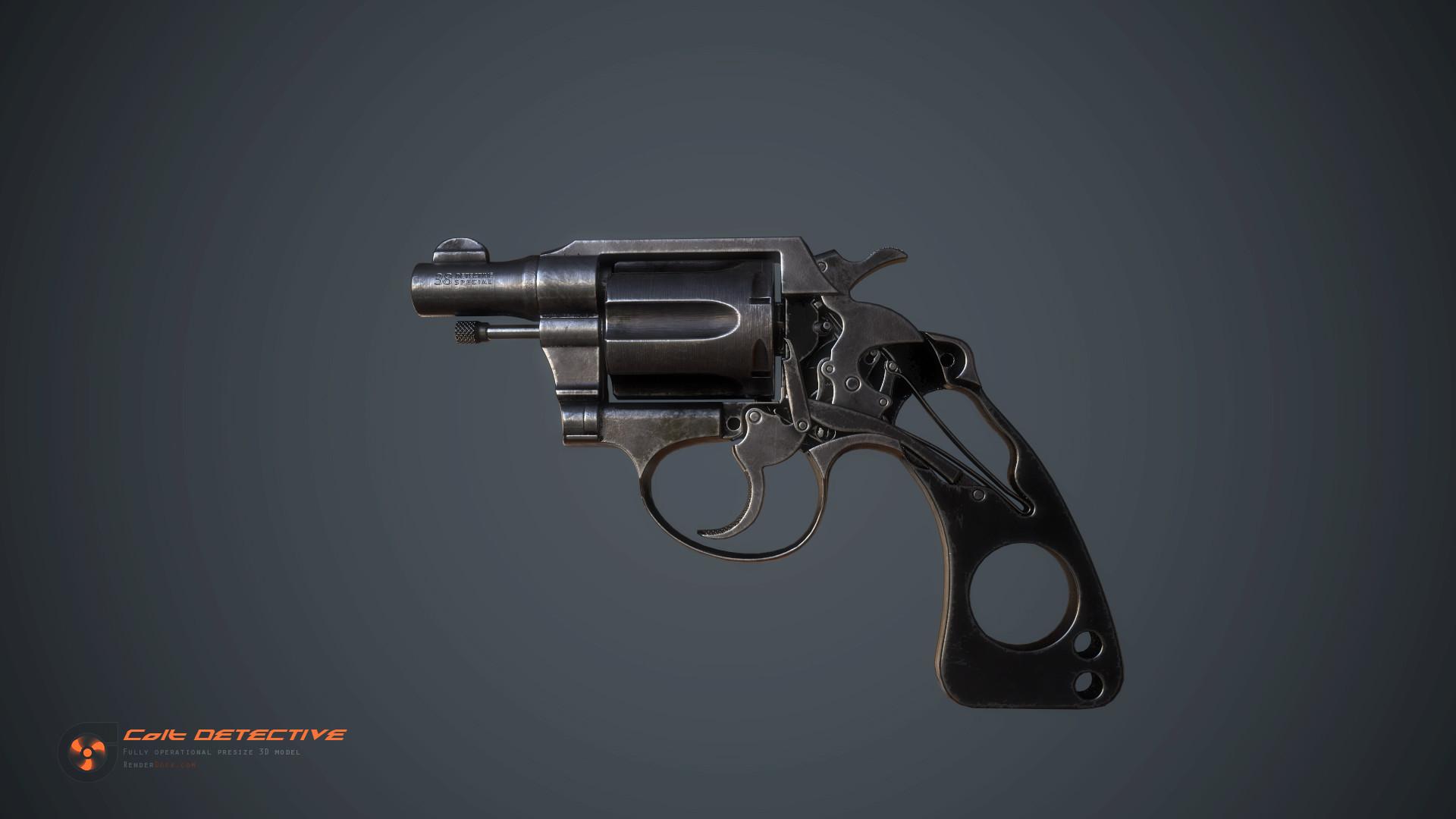 Renderdock studio colt detective detail05