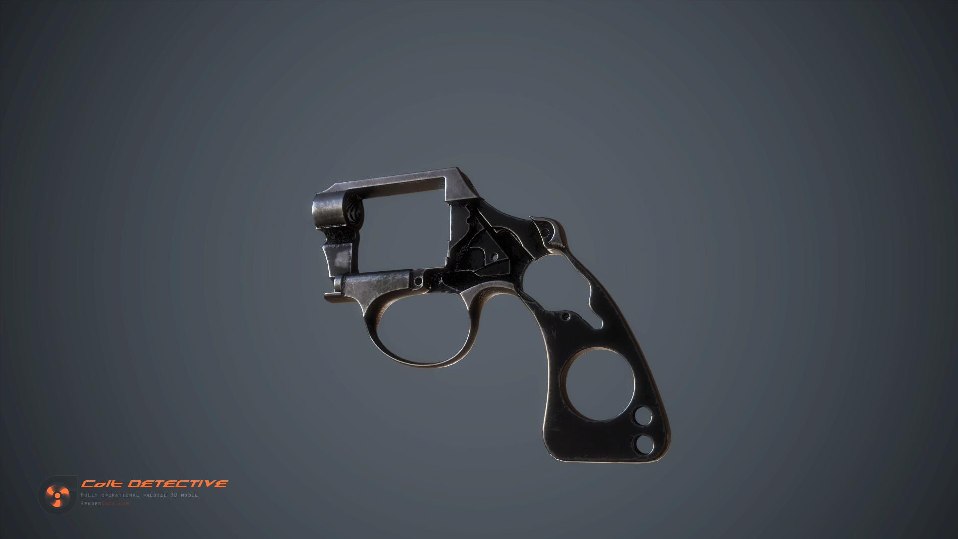 Renderdock studio colt detective detail06
