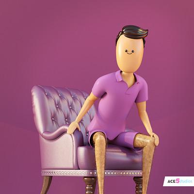 Hairy Legs 5j man