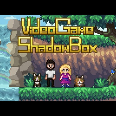 Video Game Shadow Box