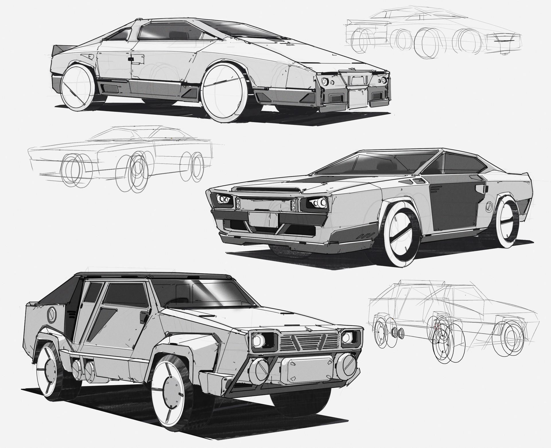 Jx saber car sci fi02