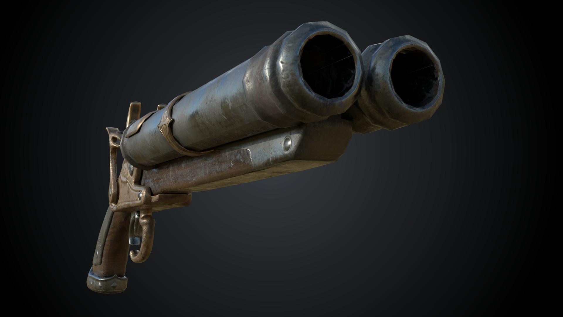 ArtStation - Musket Gun, Russell Mayer