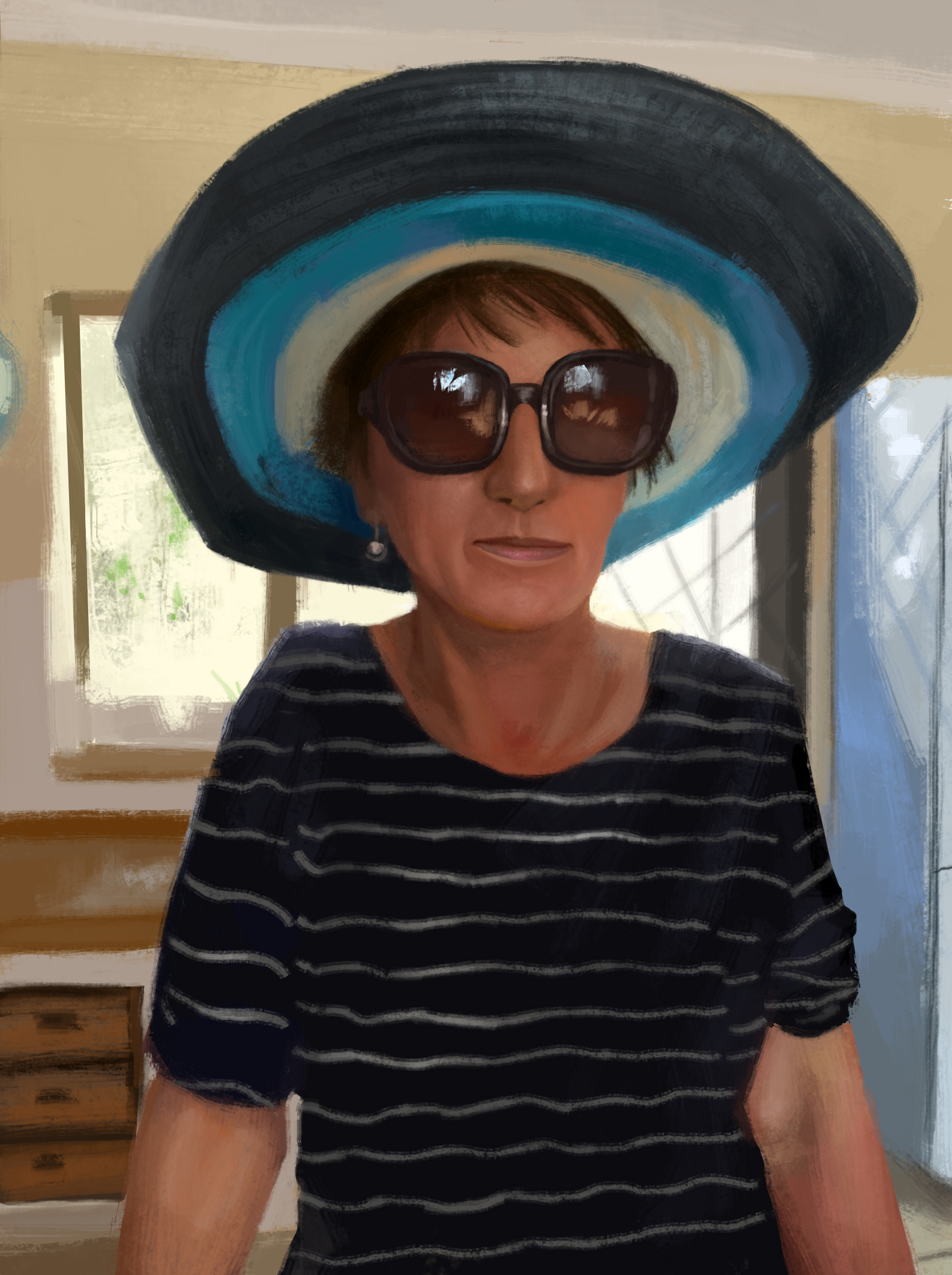 3 hour study of my mom.