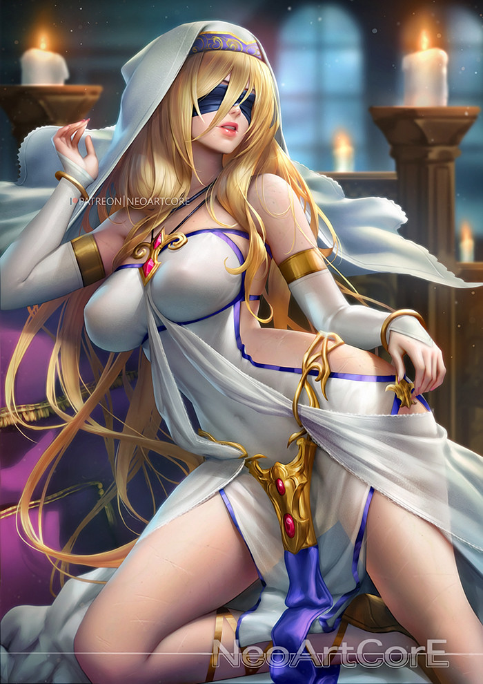 Artstation - Sword Maiden, Neoartcore Thongmai-3319