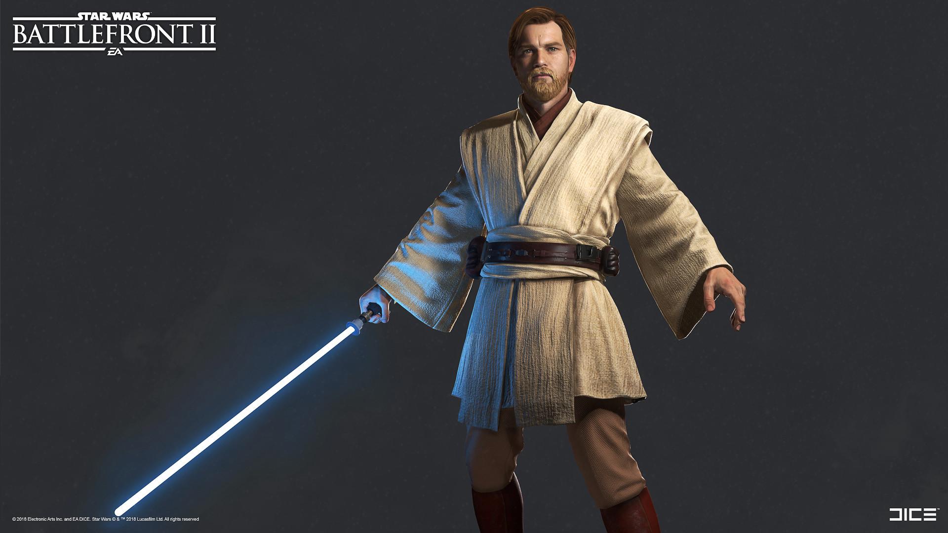 Artstation Star Wars Battlefront Ii Obi Wan Kenobi Sanna Nivhede