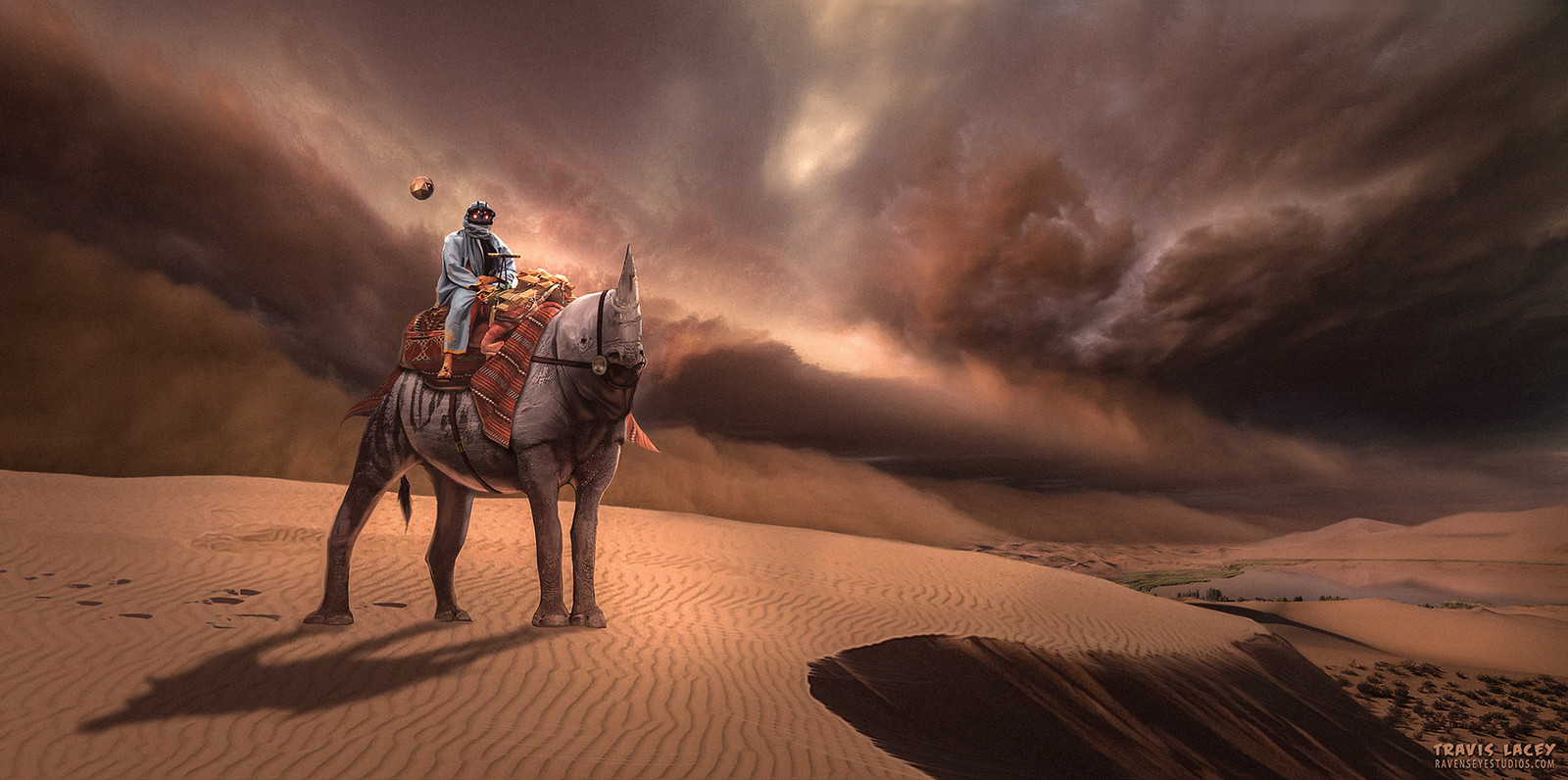 The nomad and the storm