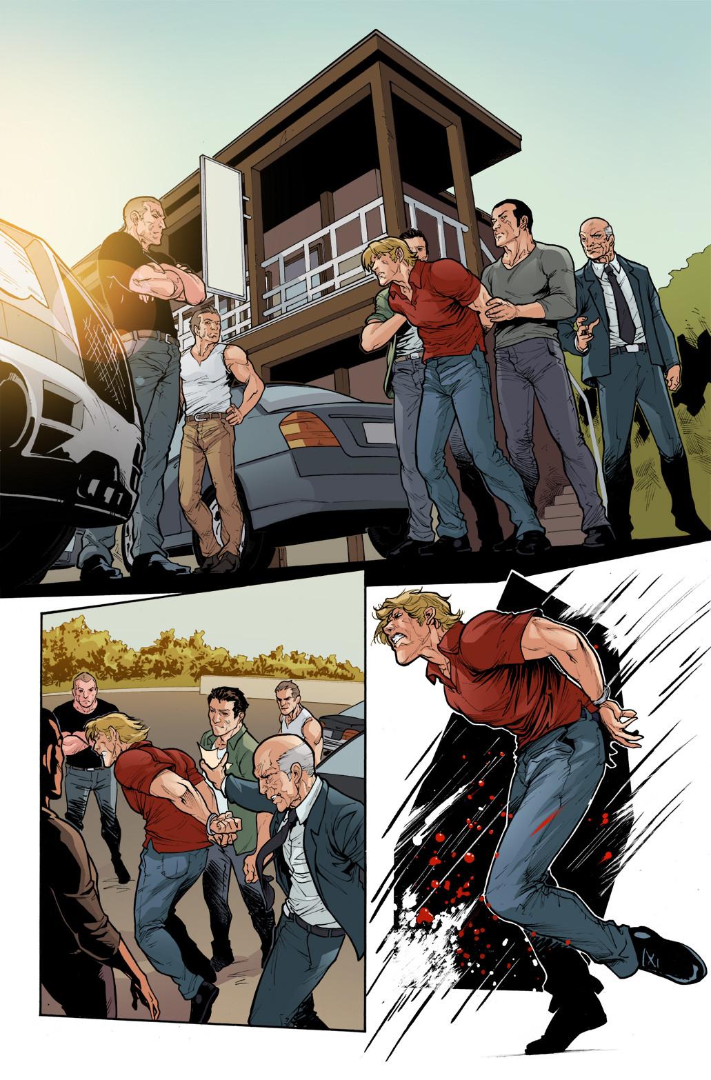 3 GUNS - #5, page 1