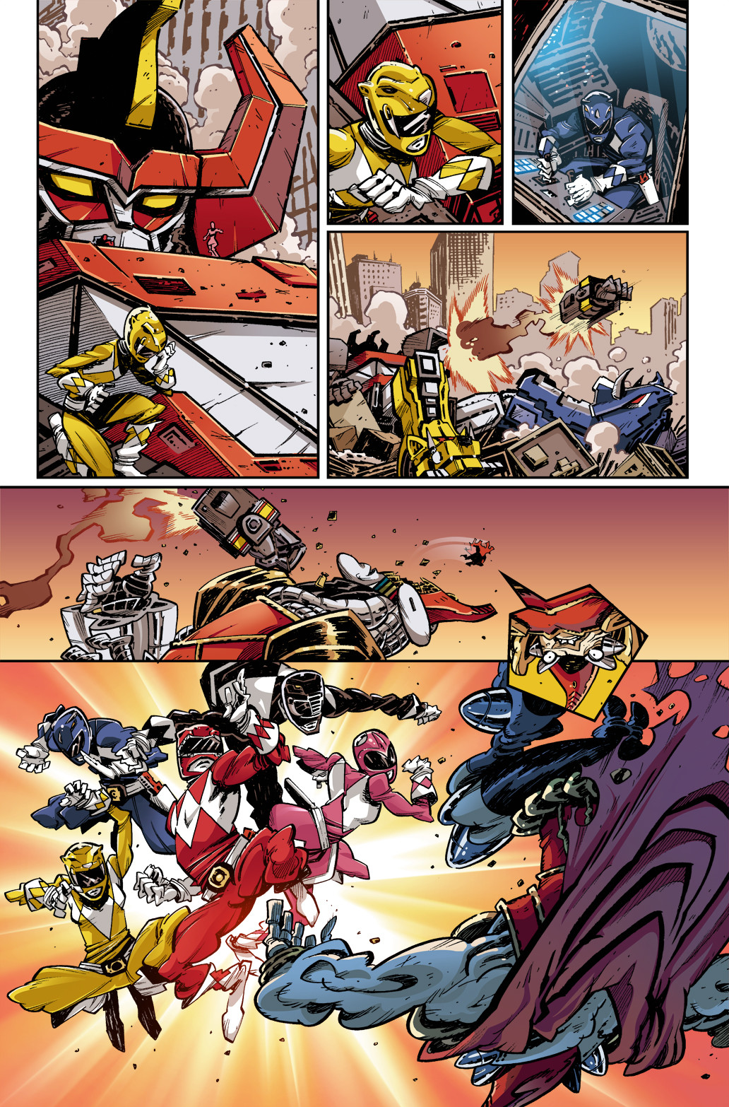 Mighty Morphin Power Rangers Annual, page 4