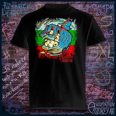 Andrey kamenov badass shark t shirt bg 01