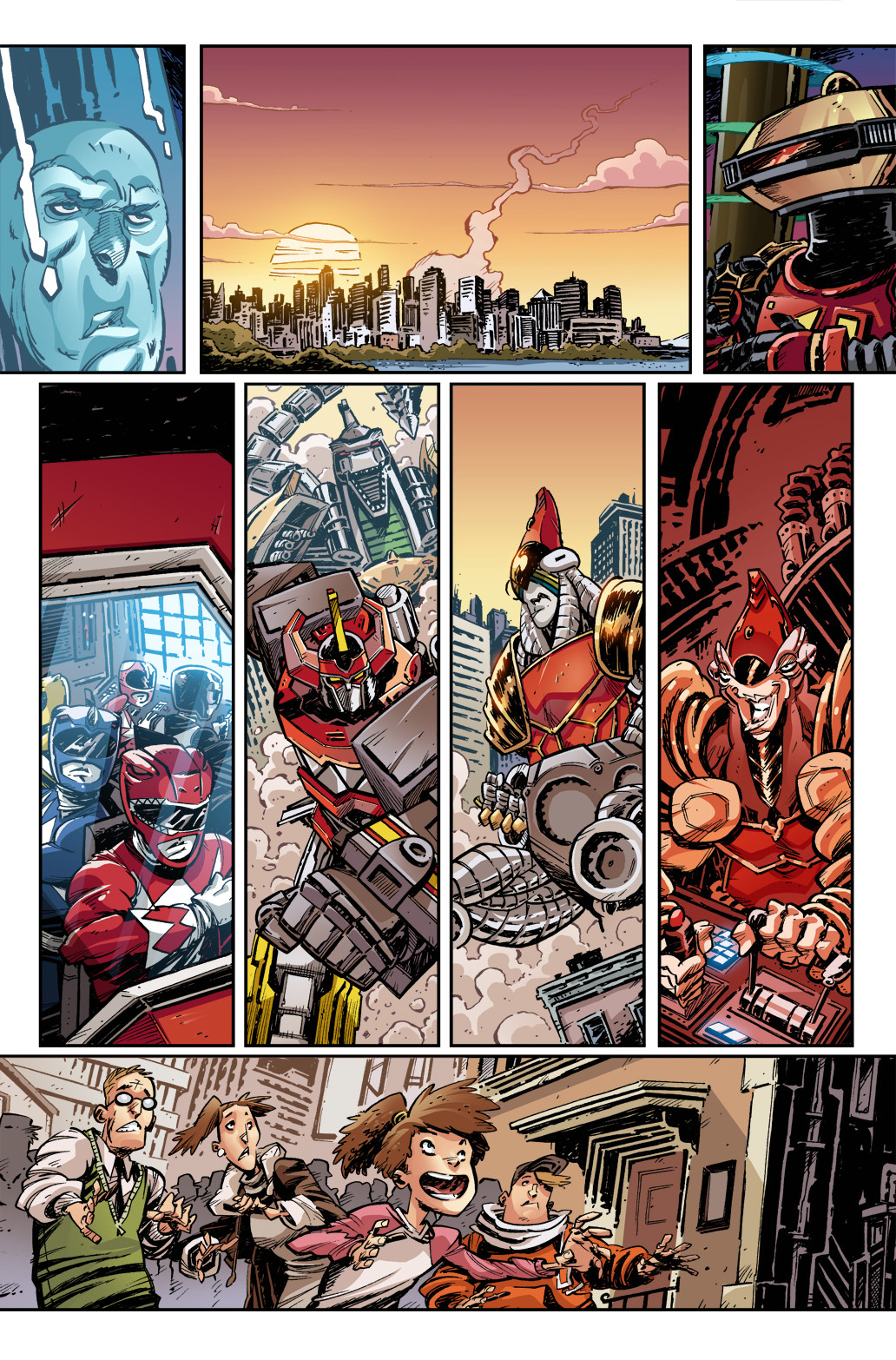Mighty Morphin Power Rangers Annual, page 1