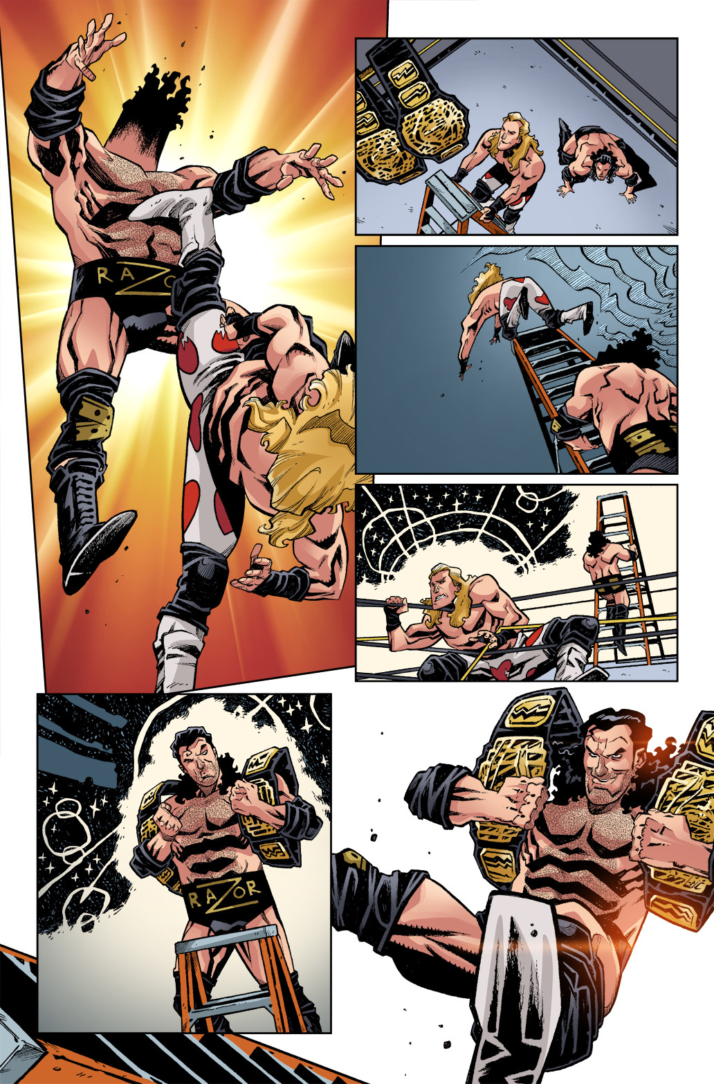 WWE - Wrestlemania Special, page 10