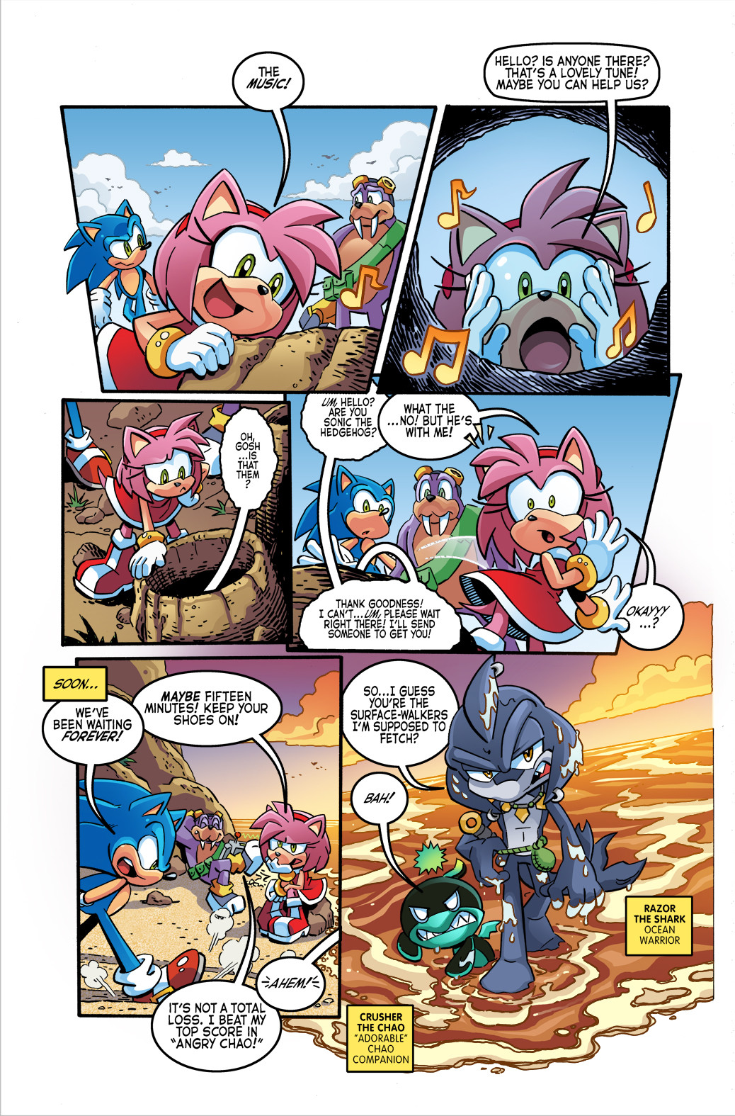 SONIC THE HEDGEHOG - #260, page4