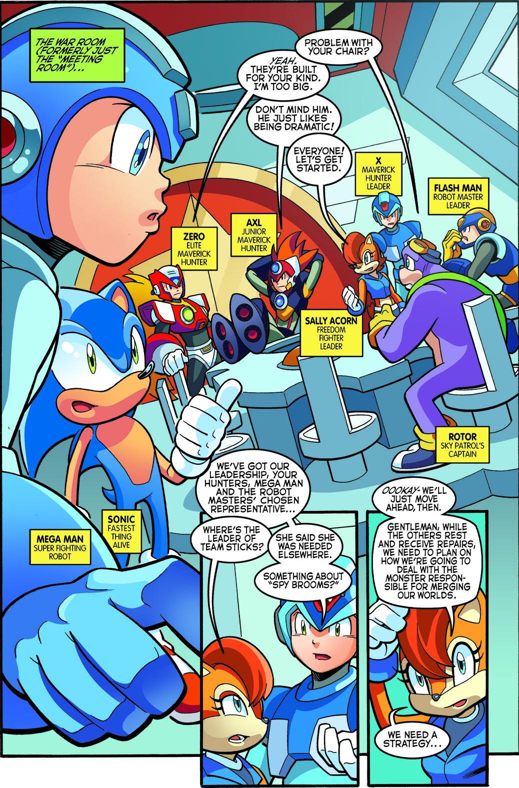 SONIC UNIVERSE - #77, page 2