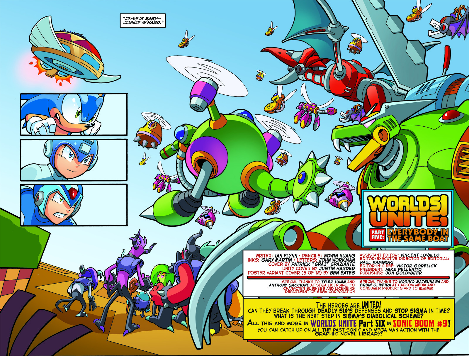 SONIC UNIVERSE - #77, pages 19-20
