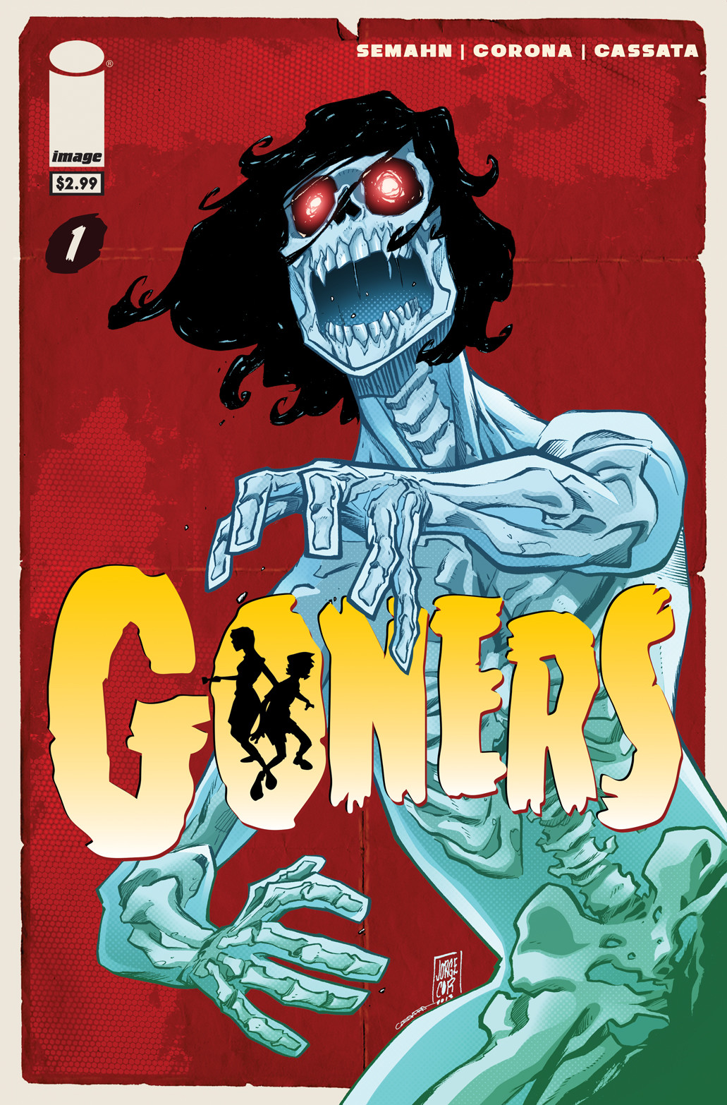 GONERS - #1 Cover