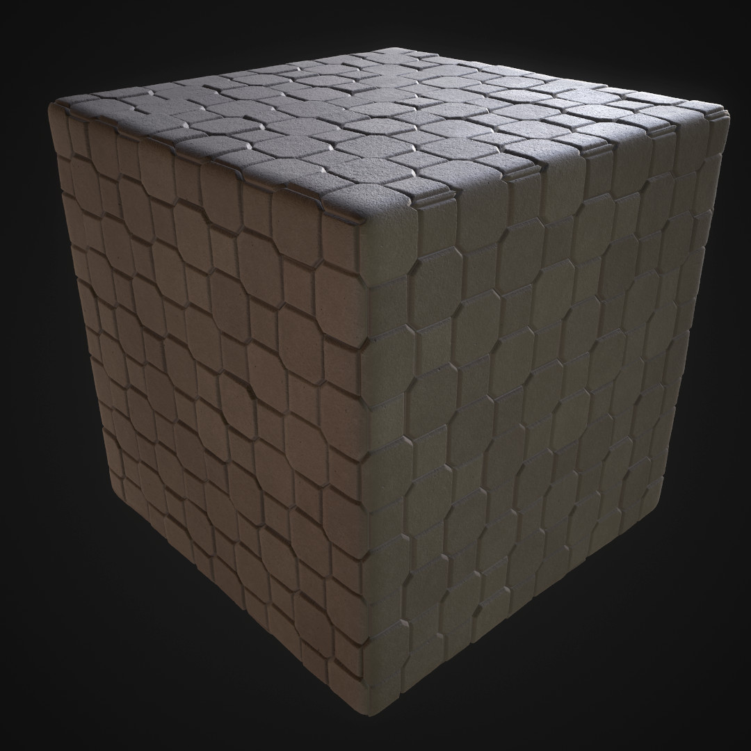 Concrete Brick Floor (Practice)