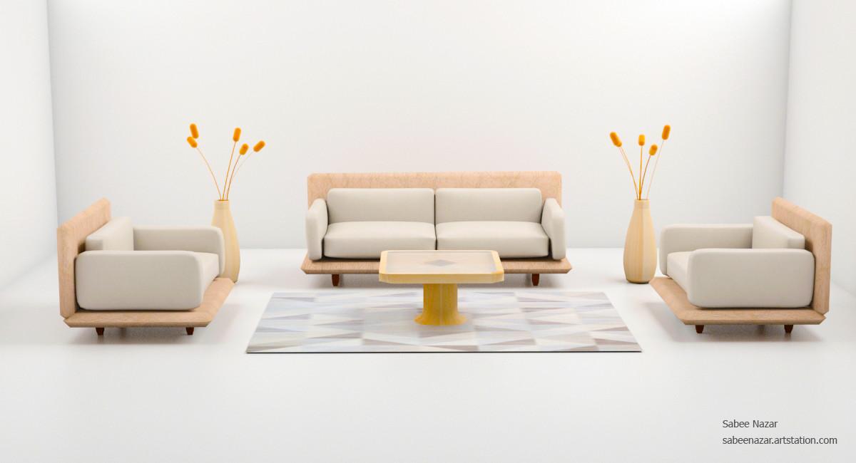 Cool Sabee Nazar 3Dsmax Sofa Set Inzonedesignstudio Interior Chair Design Inzonedesignstudiocom