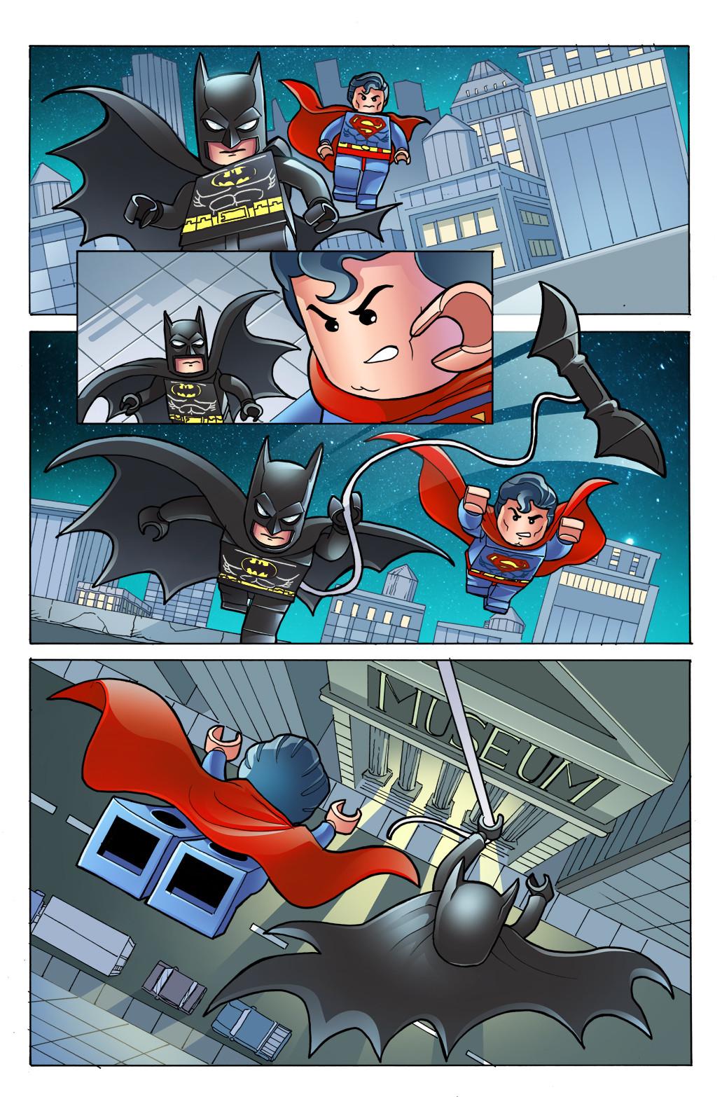 Gabriel cassata lego superman batman colors