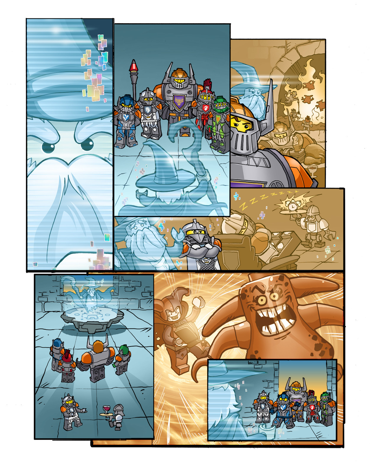 LEGO NEXO KNIGHTS, page 1