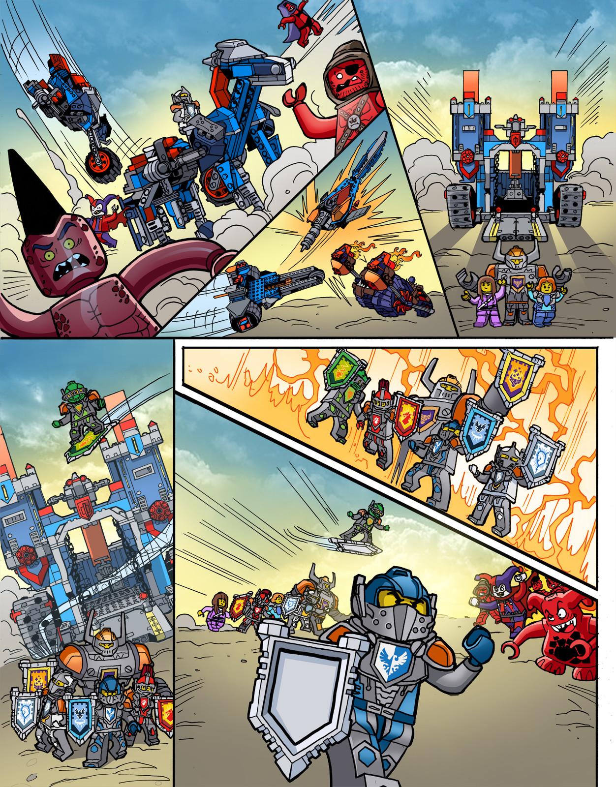 LEGO NEXO KNIGHTS, page 2
