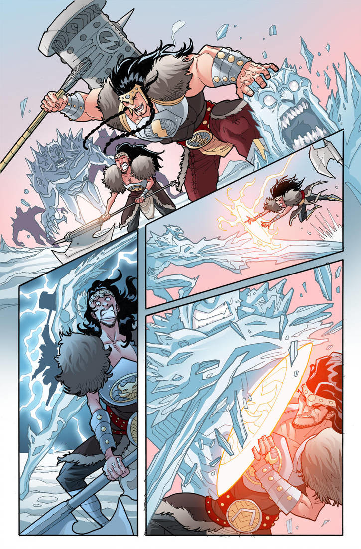 LOKI: RAGNAROK AND ROLL - #1, page 4