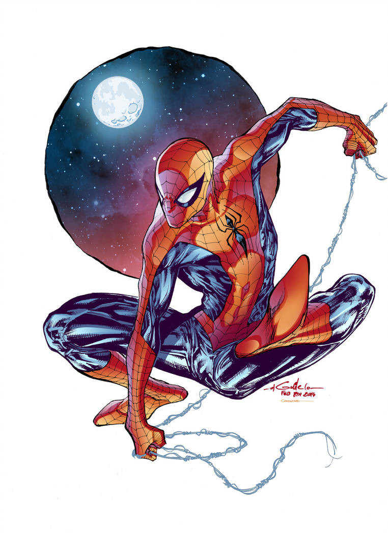Gabriel cassata spider man by gabriel cassata d7628ju pre