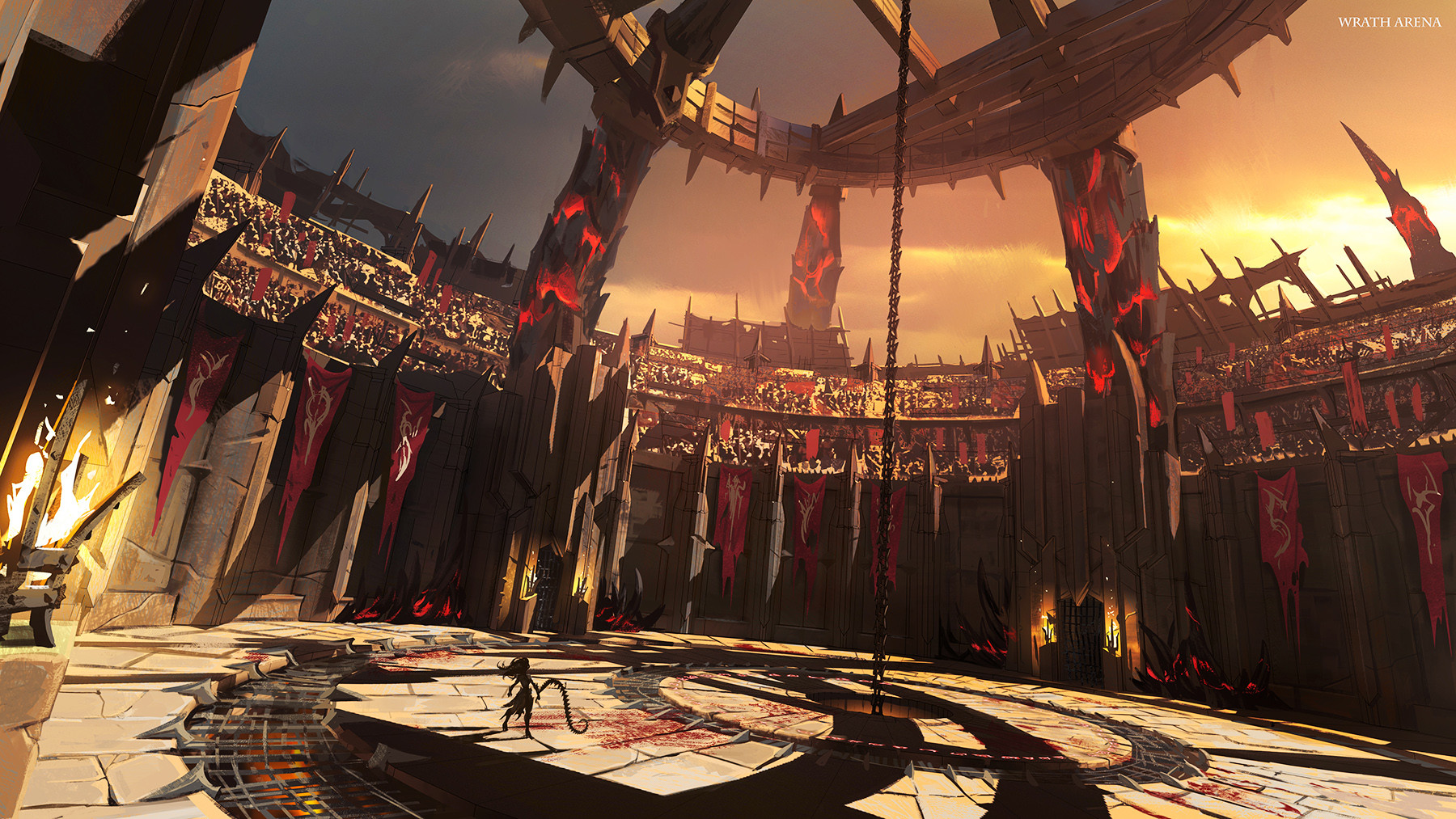 Daryl mandryk wrath arena