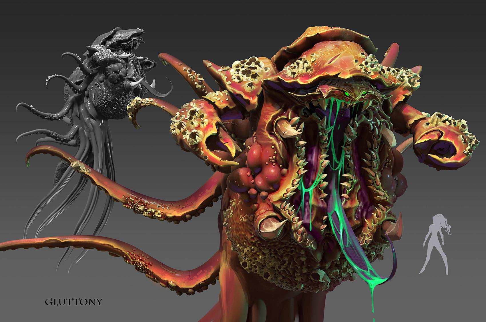 Daryl mandryk gluttony concept6