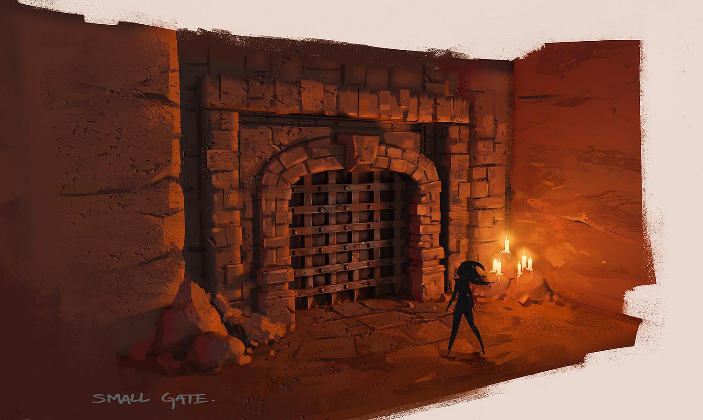 Daryl mandryk gate small study