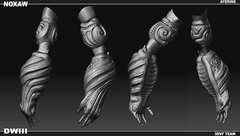 arm sculpt