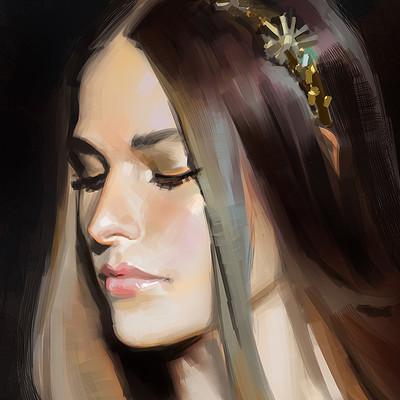Ibrahem swaid portrait study 34