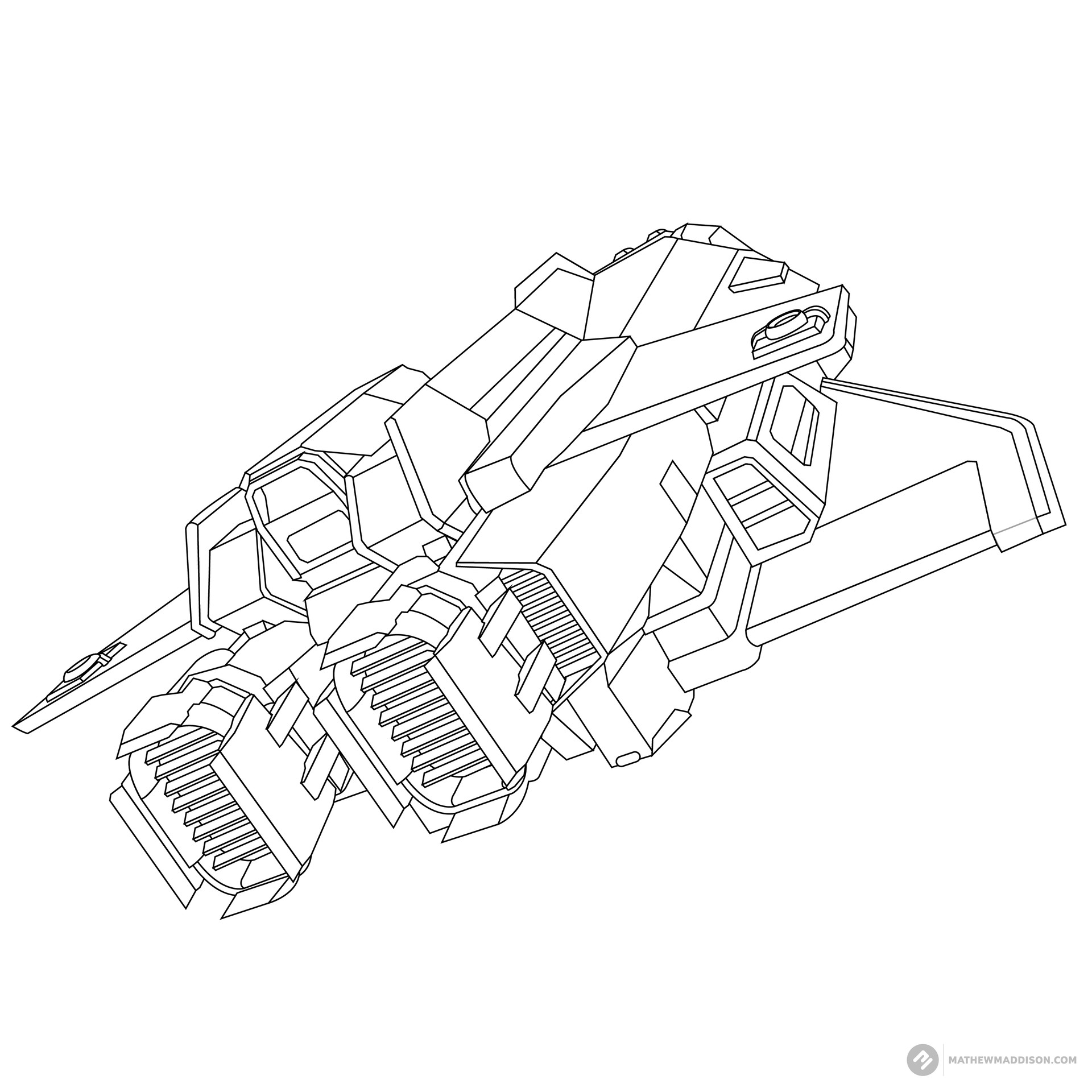 Mathew maddison elite ship no colours by mathew maddsion 04