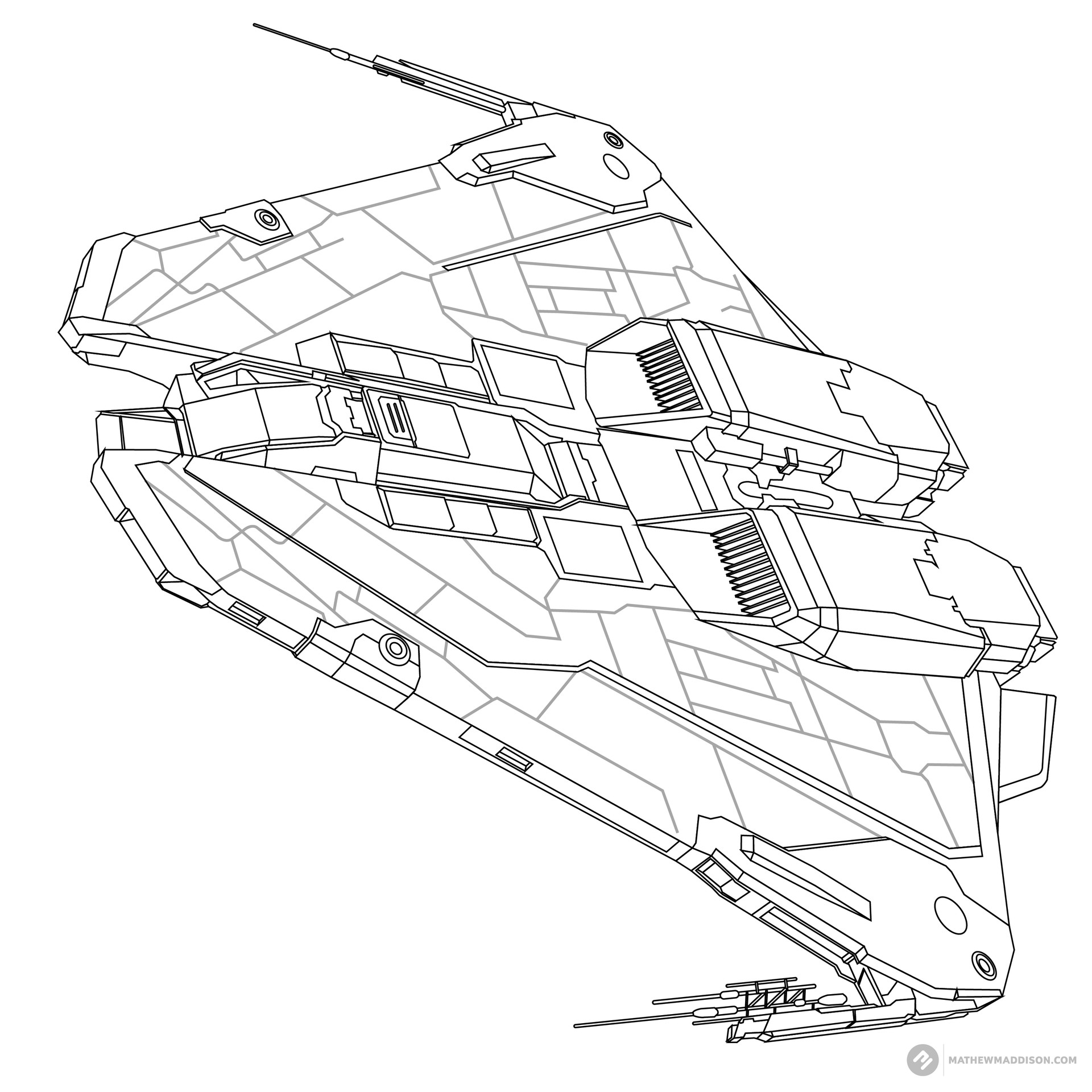 Mathew maddison elite ship no colours by mathew maddsion 06