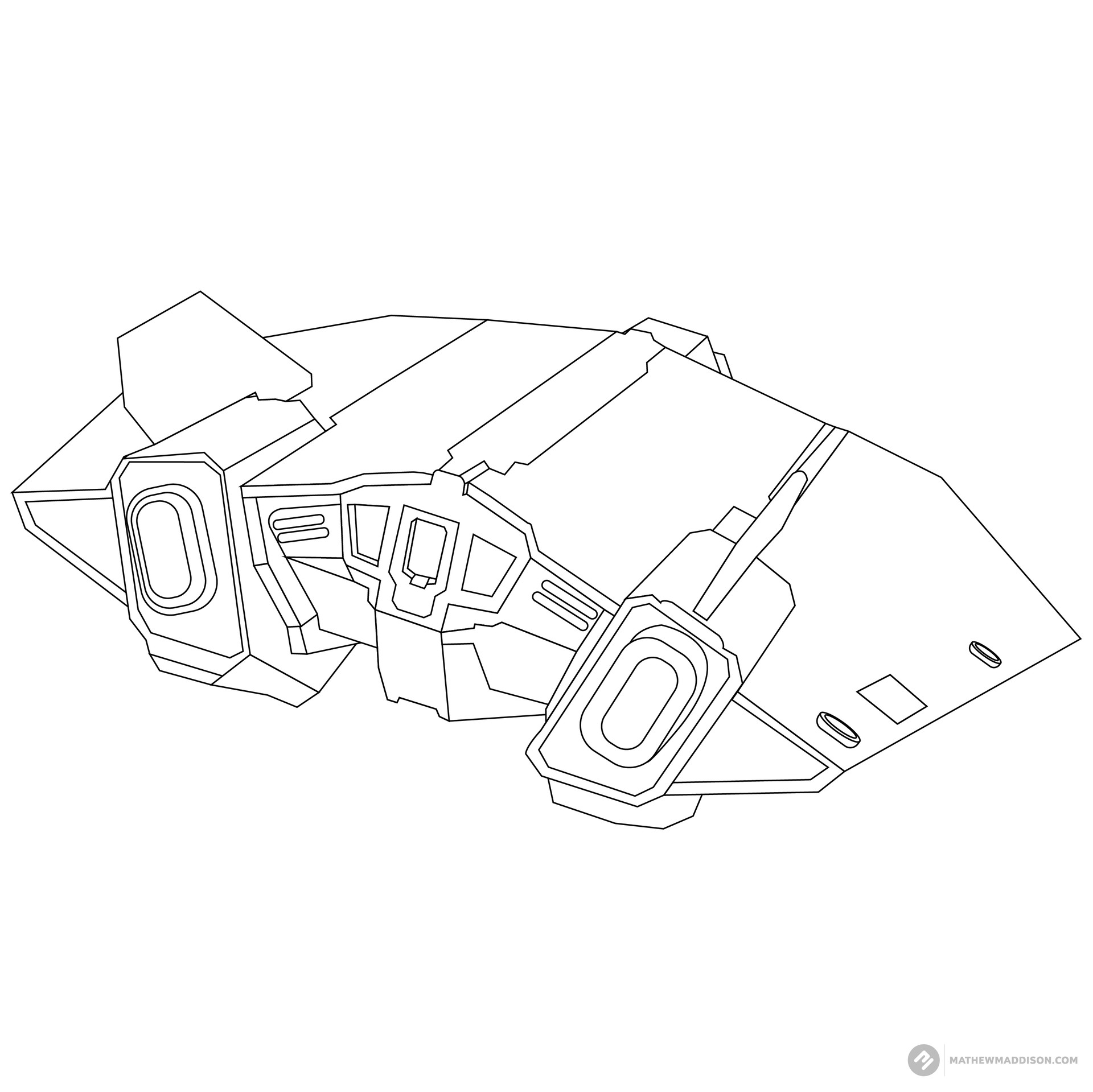 Mathew maddison elite ship no colours by mathew maddsion 09