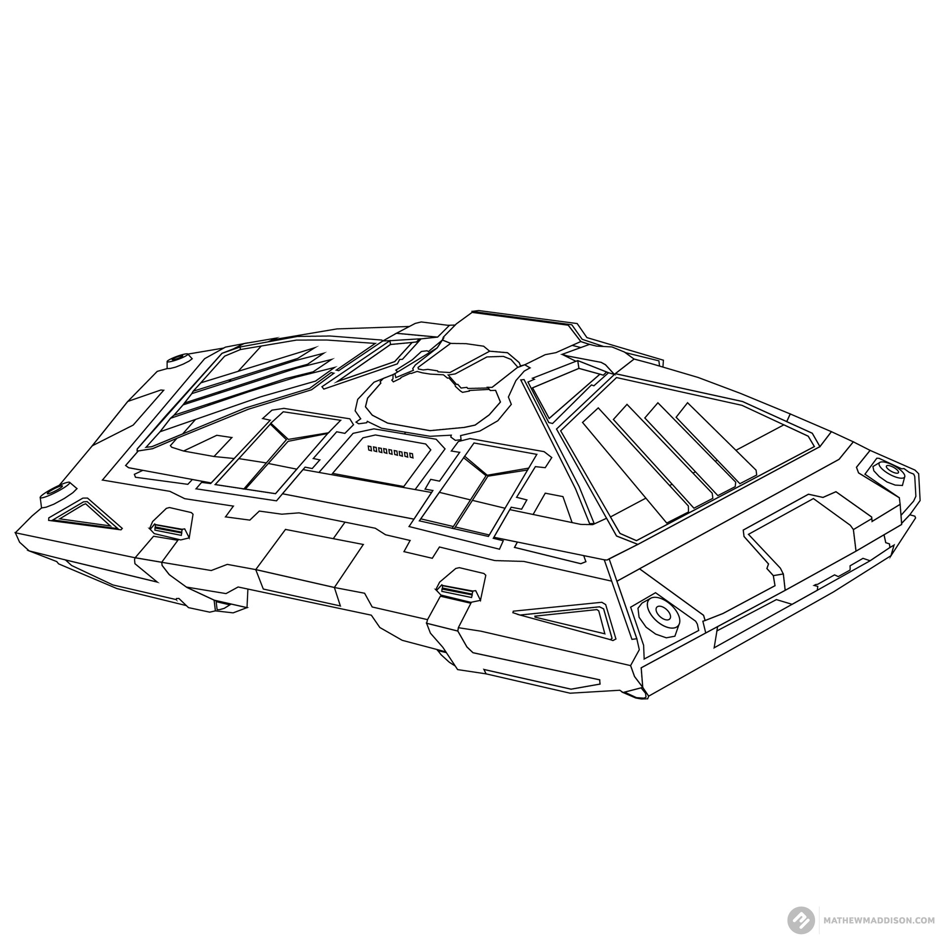 Mathew maddison elite ship no colours by mathew maddsion 13