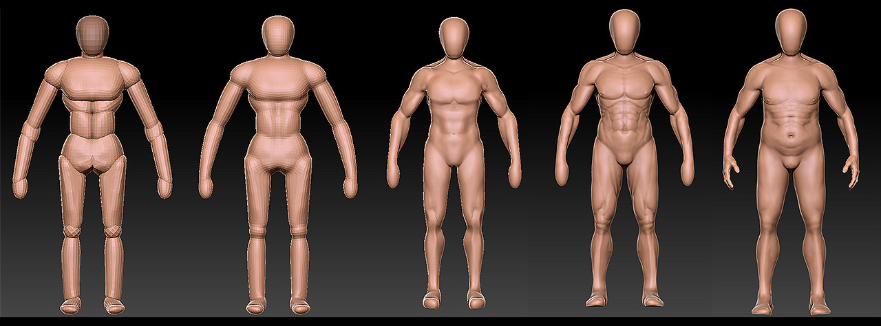 Julien laurans wip artstation body 000 julien laurans