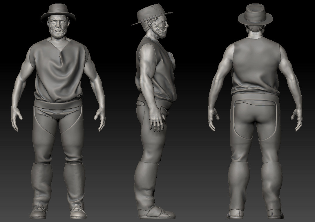 Julien laurans wip artstation body 002 julien laurans
