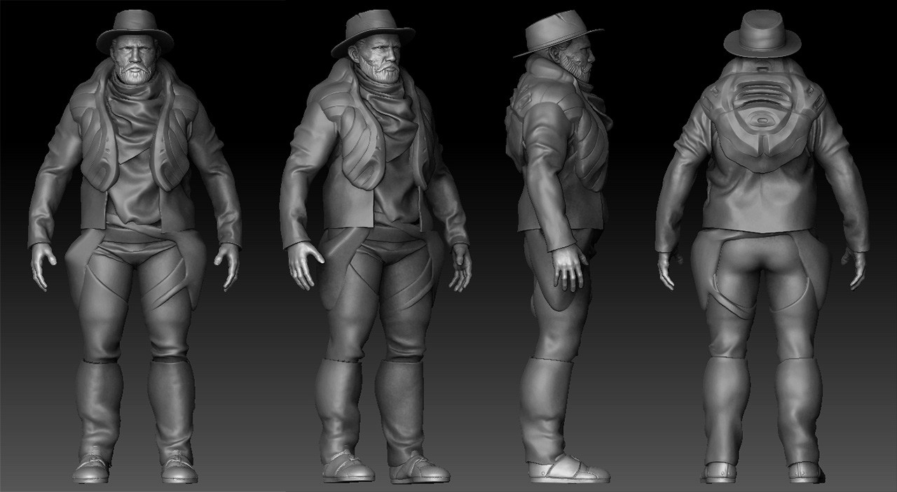 Julien laurans wip artstation body 003 julien laurans