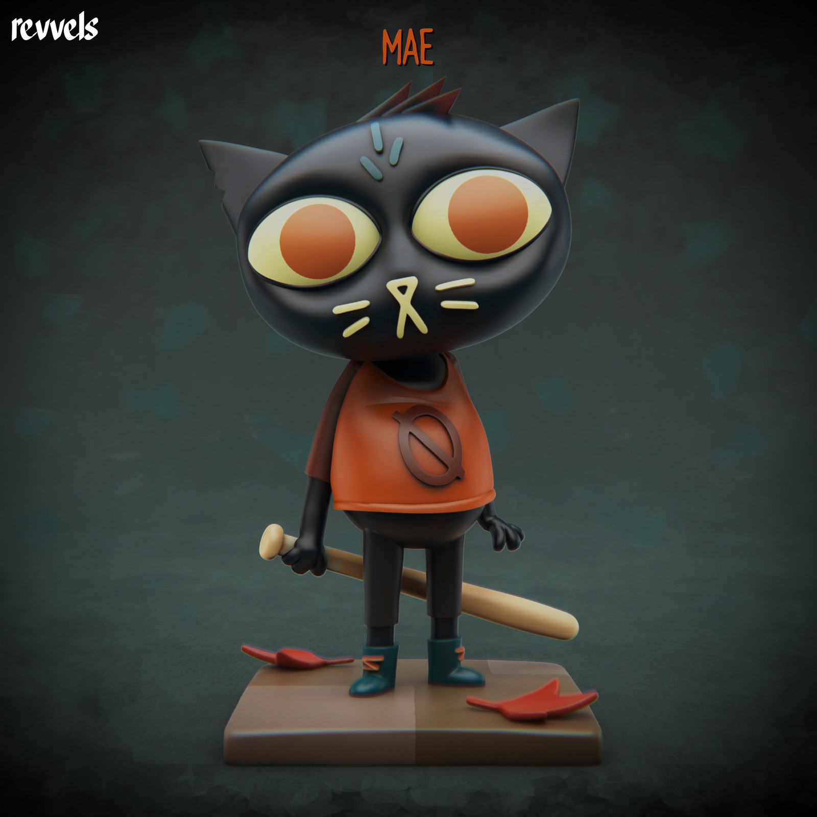 Night in the Woods: Mae