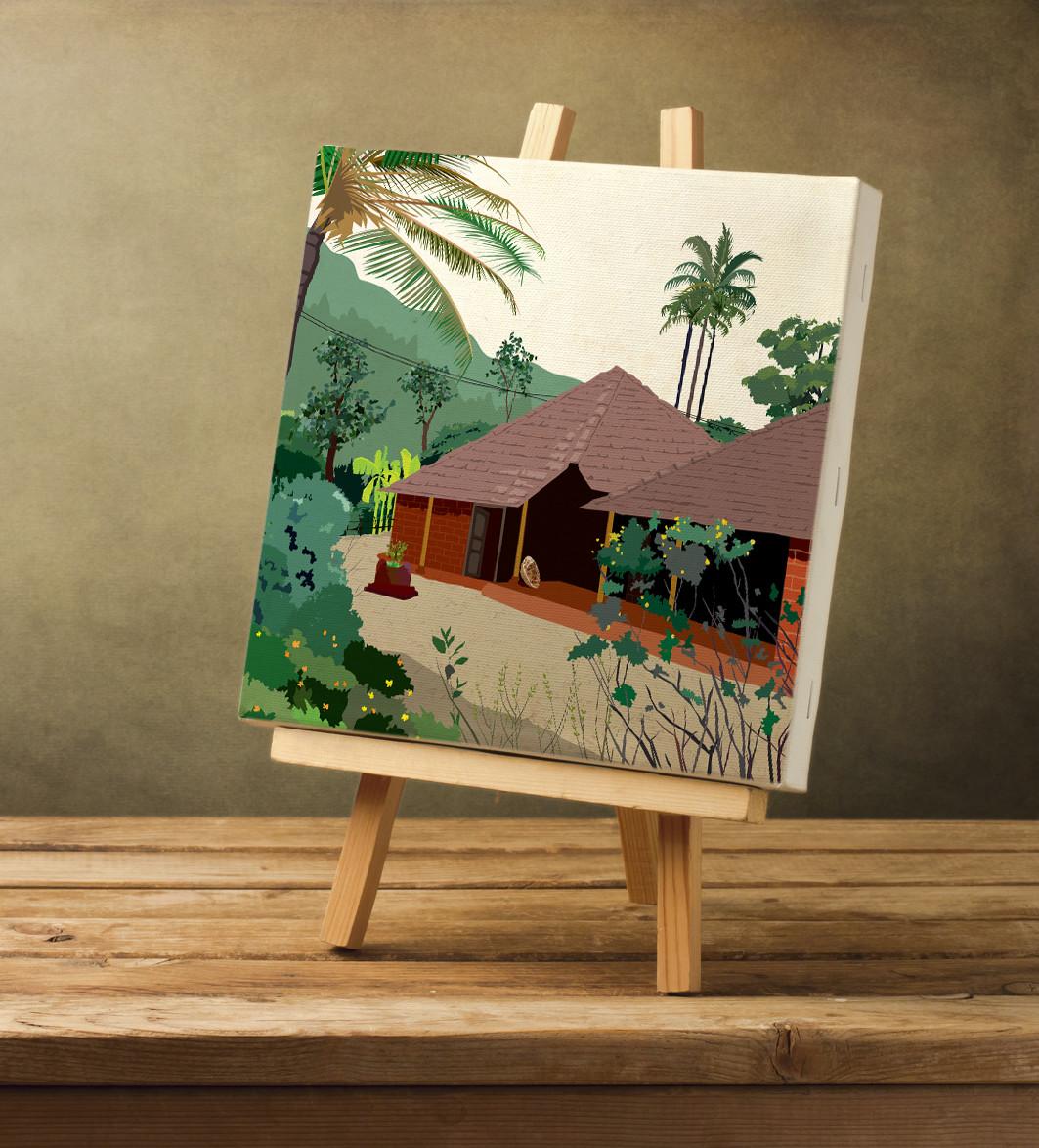 Rajesh r sawant blank canvas konkan house crop