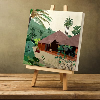 Rajesh r sawant blank canvas konkan house crop