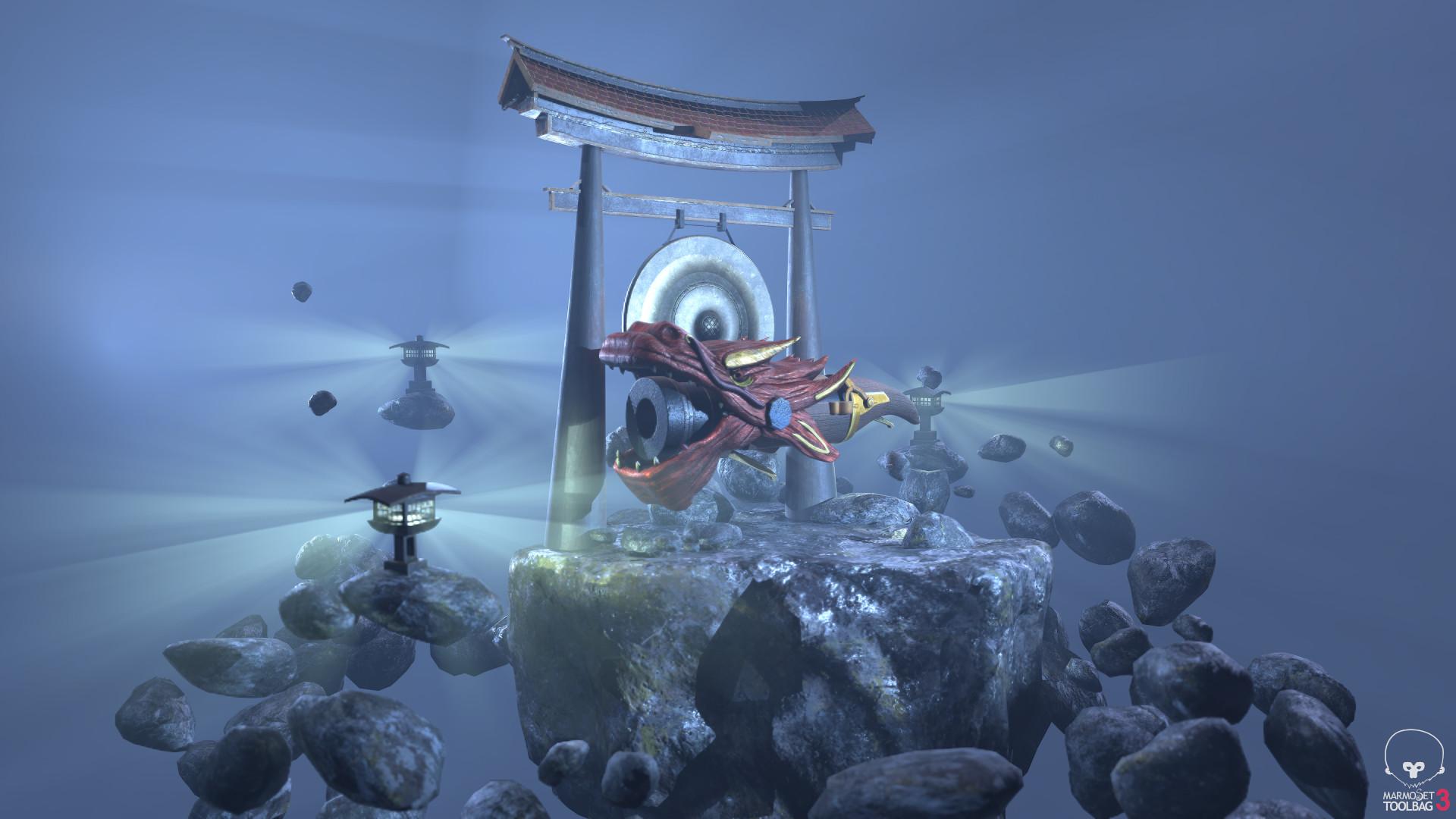 Marmoset: Dragon Tanegashima with scene