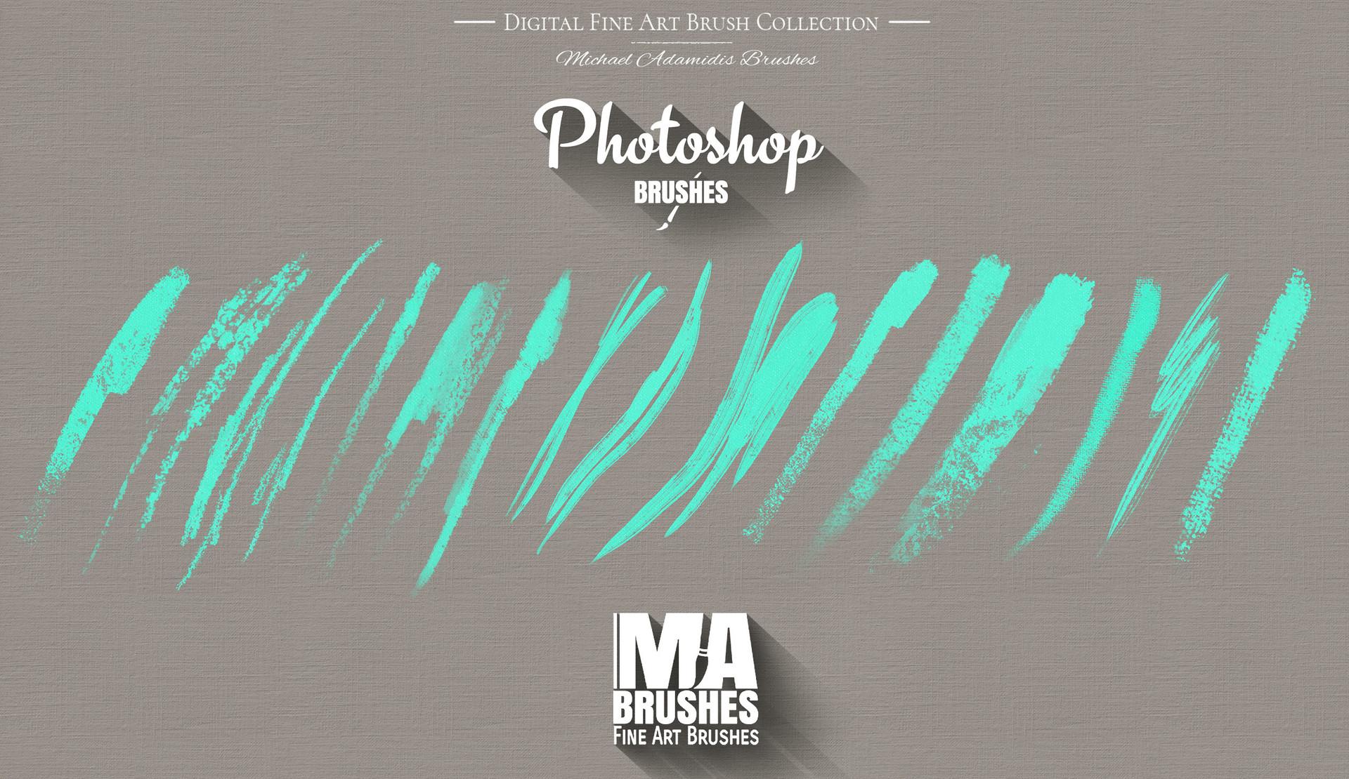 ArtStation - MA-Brushes Realistic Photoshop Painting Brushes