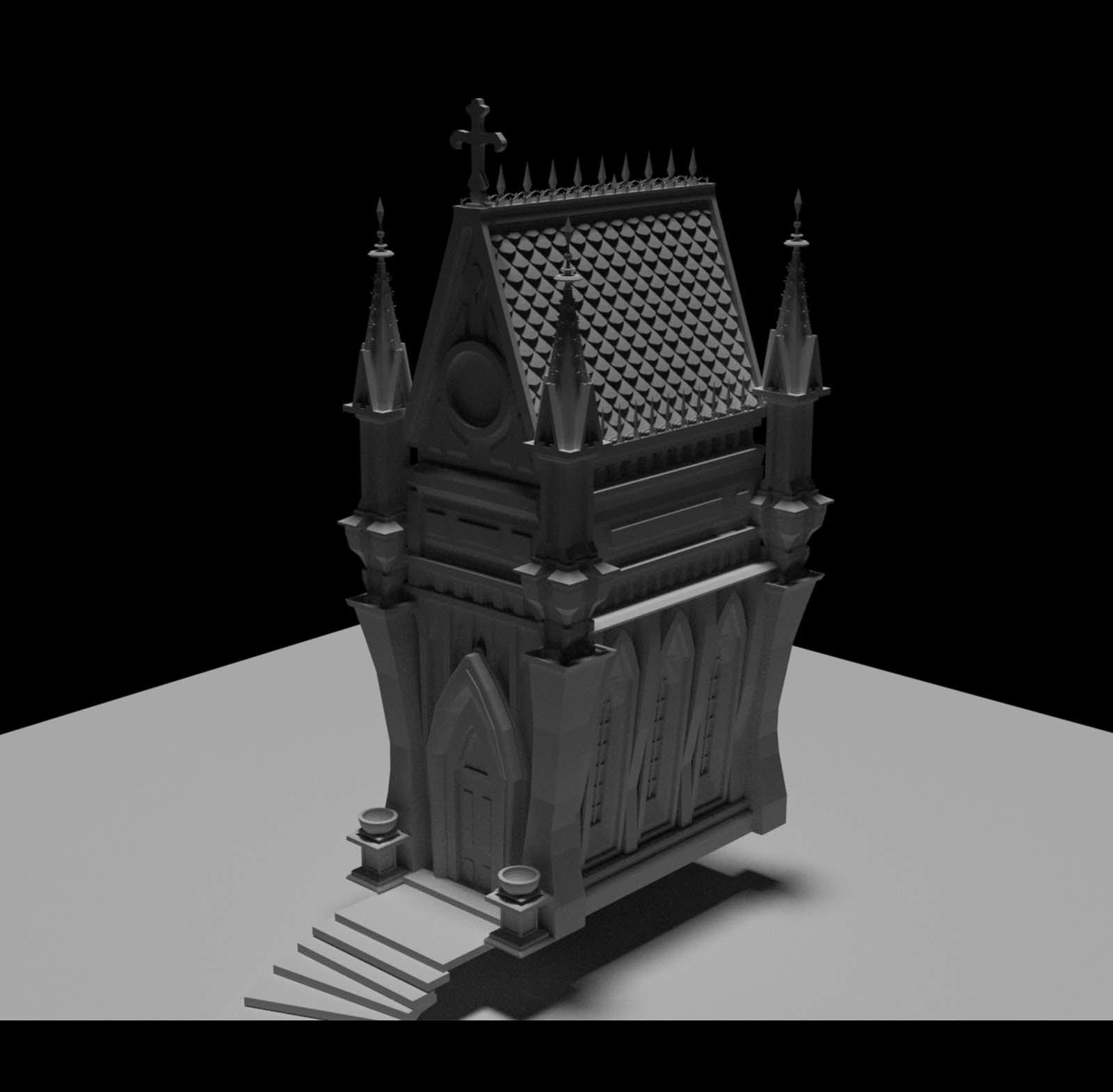 Steven hake 3d mausoleum