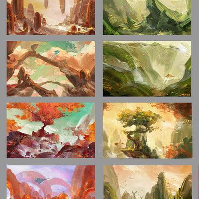 Anh le landscapes1
