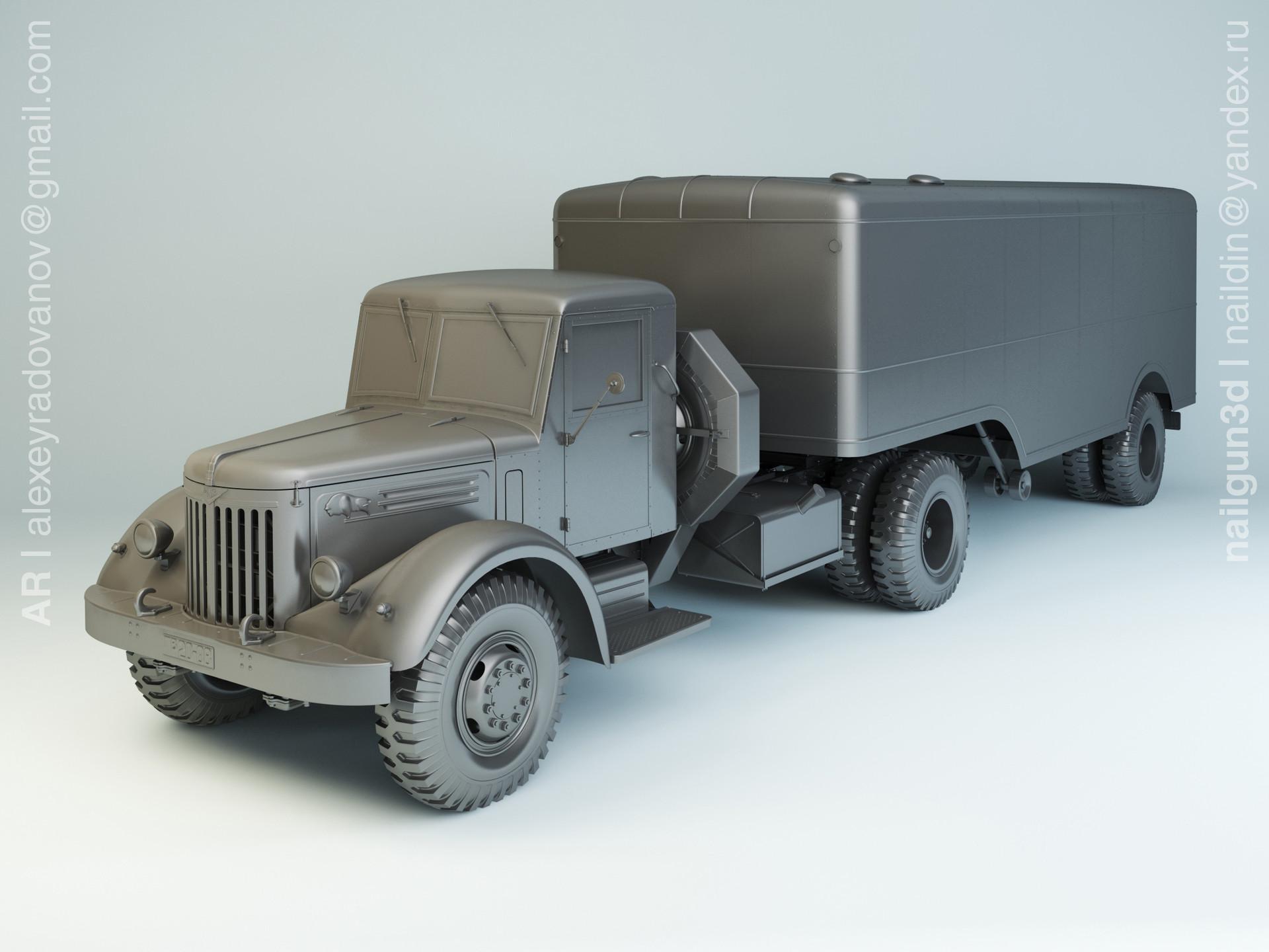 Nail khusnutdinov slg 003 000 maz 205v maz 5217 modelling 0
