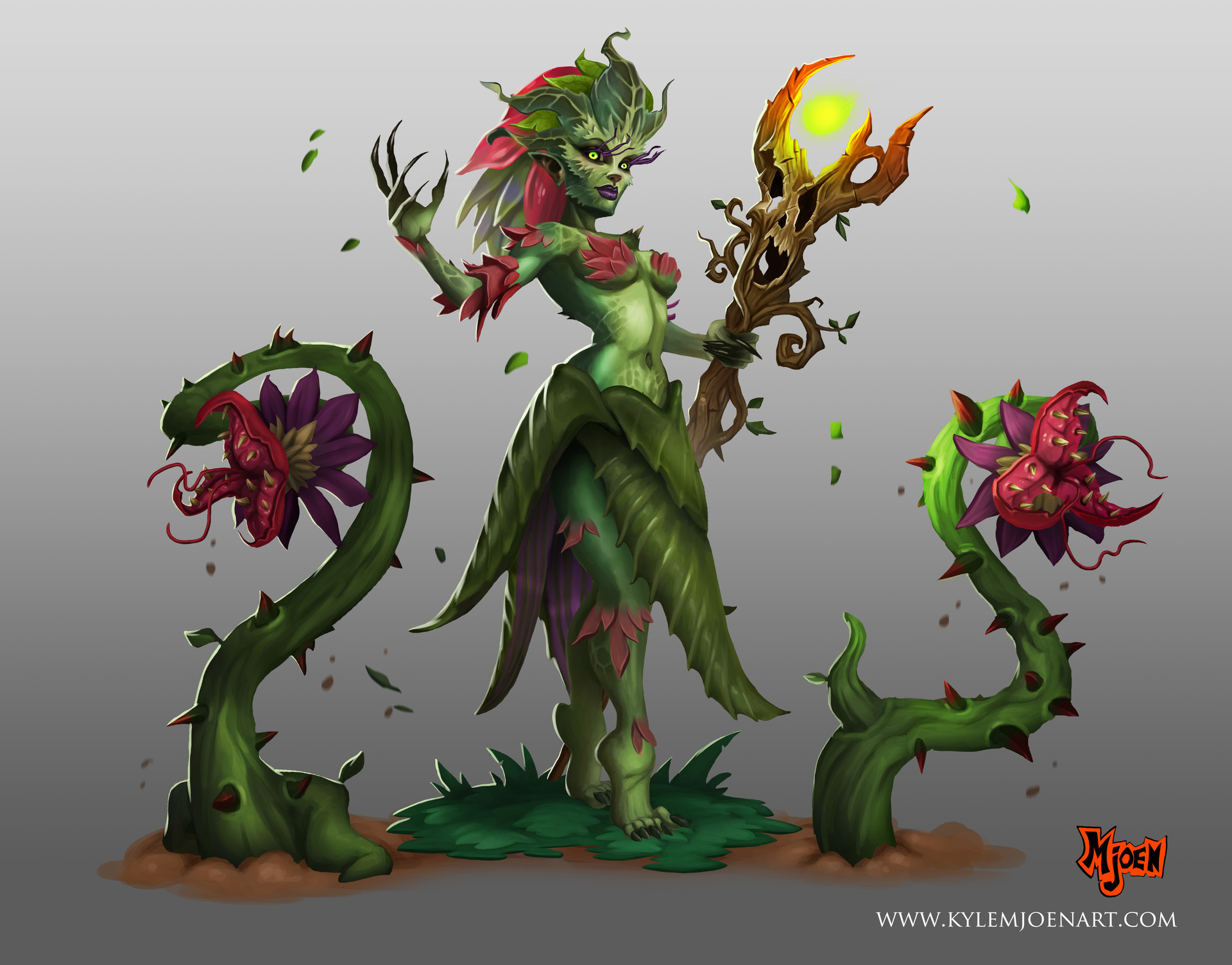 Kyle mjoen jungle witch
