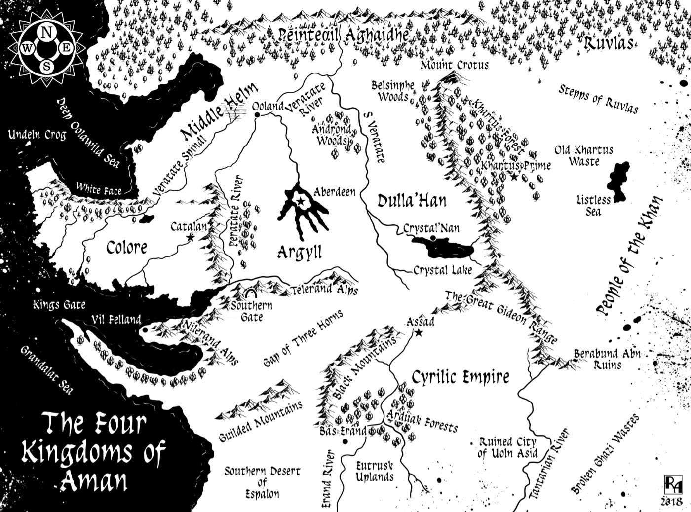 Robert altbauer aman fantasy map