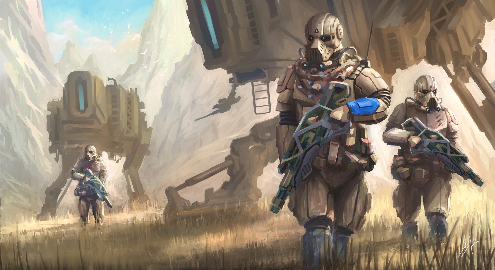 Naka isurita ranger troopers lowres